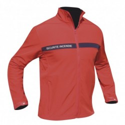 BLOUSON SOFTSHELL 3 COUCHES SECURITE INCENDIE